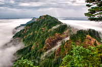 Coast Range, OR -- Saddle Mountain